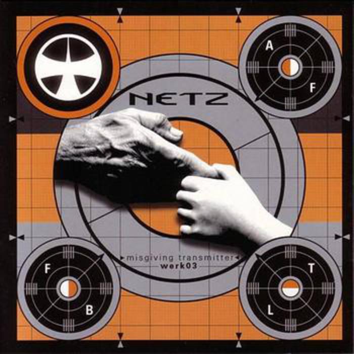 NETZ cd werk03 - industrial music from Germany